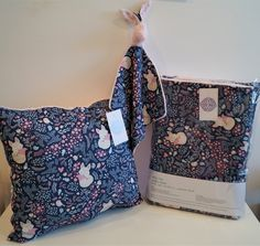 """Kolekcja """"Granatowy Lis"""" wykonana z najwyższej jakości bawełny premium oraz oryginalnego minky Shannon Fabrics."""