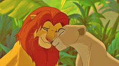 Simba et Nala