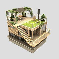 Casas flotantes | SitioFerrocemento.com