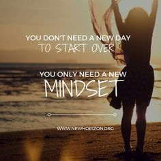 You don't need a new day to start over, you only need a new #MINDSET. Hope you have a great day today #motivation #quotes #inspiration