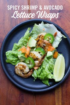 Spicy Shrimp and Avocado Lettuce Wraps with Head Country seasoning is a lite and healthy meal or snack. Plan to make this next time you do some seafood grilling. Best Bbq Recipes, Healthy Grilling Recipes, Fun Easy Recipes, Spicy Recipes, Seafood Recipes, Barbecue Recipes, Fish Recipes, Favorite Recipes, Head Country Bbq Sauce Recipe