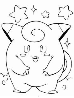 Pokemon Tegninger til Farvelægning 15