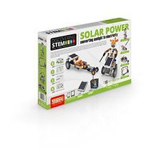 Engino S. Solar Power Building Model Kit: Convert sunlight to electricity! this set includes one solar panel that powers an electrical motor. Solar Energy Panels, Best Solar Panels, Solar Roof Tiles, Electrical Energy, Solar House, Solar Charger, Roofing Systems, Panel Systems, Solar Energy System