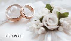Tips og inspirasjon til gode valg av forlovelse- og gifteringer.