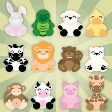 Cuddly Animals SVG Collection Cuddly Animals SVG Collection [] : SVG Files for Cricut, Silhouette, Sizzix, and Sure Cuts A Lot Crafts To Do, Paper Crafts, Kids Crafts, Punch Art Cards, Pretty Drawings, Cute Clipart, Felt Birds, Art Template, Felt Diy