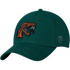 sale retailer af57b b772f Men s Top of the World Green Florida A M Rattlers Strike Unstructured  Adjustable Hat