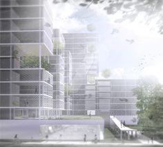 Entrance by Kokoro-Architecture on DeviantArt Kokoro, Worlds Largest, Blinds, Entrance, Skyscraper, Multi Story Building, Deviantart, Gallery, Projects
