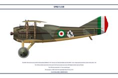 The SPAD S.XIII entered service with the Aéronautique Militaire in 1917 and was one of the best fighter aircraft of It was a larger heav. Spad S. Italian Air Force, Air Fighter, World War One, Fighter Aircraft, Military Art, Colour Schemes, Airplanes, Wwii, Baby Strollers