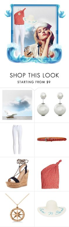 """""""Sail Away With Me?"""" by janetvera ❤ liked on Polyvore featuring DOMESTIC, Sterling Essentials, Barbour, Kakao By K, Gianvito Rossi, Rosie Assoulin, Allurez, New Directions, polyvorefashion and generalgroups"""