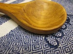 Handmade Wooden Spoon by SpuzzoWoodworking on Etsy