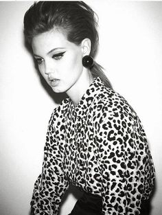 Lindsey Wixson by by Ezra Petronio for Self Service Fall leopard top All Fashion, Grunge Fashion, World Of Fashion, Fashion Models, Fashion Portraits, Fashion Story, Beauty Shoot, Hair Beauty, Lindsey Wixson