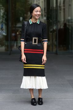 Street fashion: Paris Fashion Week Haute Couture jesień-zima 2014/2015, fot. Imaxtree
