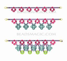 Free pattern for necklace May Day | Beads Magic
