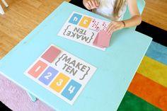 Make Ten {an easy card game for kids} - Mama.Papa.Bubba.