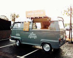 We are The Crema Caravan, The UK's first, and only dedicated dessert truck. Food Trucks, Kombi Food Truck, Car Food, Food Vans, Mobile Cafe, Mobile Shop, Streetfood Festival, Foodtrucks Ideas, Coffee Food Truck