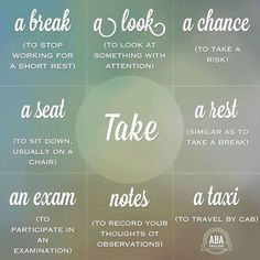 Verb Collocations in English