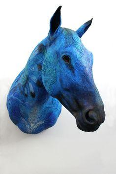 Blue Horse Year I by hontor.deviantart.com on @deviantART