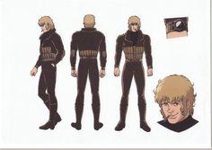anime settei, , Space adventure Cobra, settei pre, settei sheet, model sheet