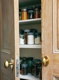 pantry doors & hardware | House & Home