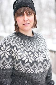Ravelry: Snjóflyksa pattern by Linnea Ornstein