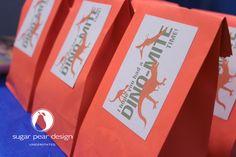 dinosaur birthday party favors | www.sugarpeardesign.com | © 2012 Sugar Pear Design LLC