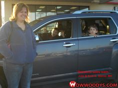 "Julie and Scott Graham from Mercer, Missouri purchased this 2013 GMC Terrain and wrote, ""5 stars. Awesome sales team and staff! They made the process easy."" To view similar vehicles and more, go to www.wowwoodys.com today!"