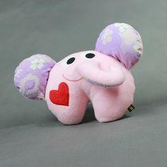 Słoń - przytulanka-rękodzieło / Elephant - hand made toy