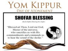 Day of Atonement / Yom Kippur - Shofar blessing Yom Teruah, Yom Kippur, Feasts Of The Lord, Feast Of Tabernacles, Jewish Festivals, Messianic Judaism, Hebrew School, Understanding The Bible, Strong Faith