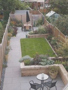 Small Backyard Gardens, Backyard Garden Design, Small Backyard Landscaping, Small Gardens, Landscaping Ideas, Small Backyards, Large Backyard, Backyard Patio, Sloped Backyard