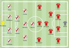 El partido de hoy (22 de marzo 2013) aparece como una de las estaciones más importantes en el camino a Brasil 2014. Tanto Chile como Perú ven este duelo como una instancia vital para dejar atrás una serie de malos resultados e imprevistos.