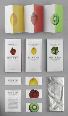PIERIA & DION Packaging Design This is the packaging and wordmark design for the fictional artisan chocolate company Pieria & Dion. It was an assignment for my graphic design class at the School of Visual Arts.