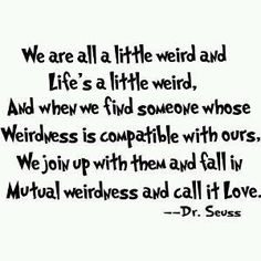 Dr. Seuss and love.