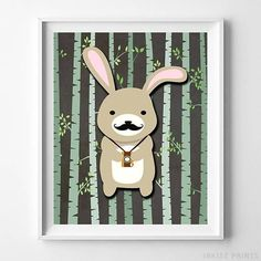 Woodland Rabbit Brown Background posters by Inkist Prints! This unique nursery decor print will make a great addition to any nursery and kids room. It would also be a great gift for baby shower and birthday. Nursery Artwork, Kids Room Wall Art, Nursery Prints, Nursery Decor, Nursery Room, Room Decor, Artwork Prints, Poster Prints, Rabbit Art