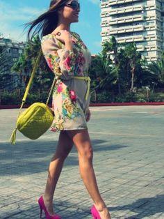 bymamen Outfit Primavera 2012. Combinar Vestido Amarillo Limón Primark 1fc967f5697