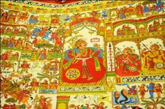 Phad painting from Rajasthan