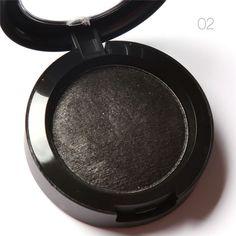 Single Baked Eye Shadow Powder Makeup Palette in Shimmer Metallic Glitter Cream Eyeshadow Palette