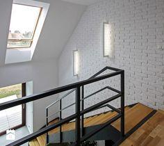 Schody, styl skandynawski - zdjęcie od DOMY Z WIZJĄ - nowoczesne projekty domów