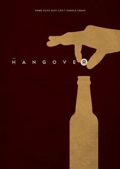 The Hangover (2009) ~ Minimal Movie Poster by E. Novazheev #amusementphile | https://lomejordelaweb.es/