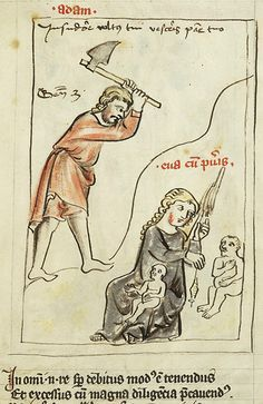 Speculum humanae salvationis, MS M.140 fol. 5r - Images from Medieval and Renaissance Manuscripts - The Morgan Library & Museum