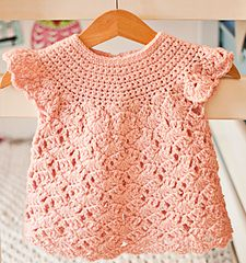 sizes 1 to 10 yrs./ CROCHET pattern