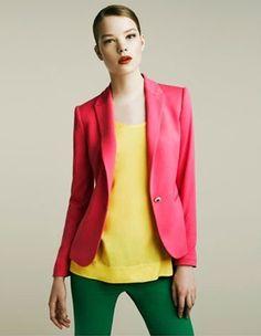 $ 13.51Single Button Fashion Coat Watermelon Red