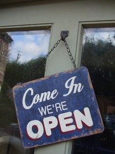 Open sign Clinical Nurse Specialist, Open Signs, Cafe Shop, Door Signs, Growing Up, Retro Vintage, Sisters, Ebay, Pallet