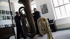 A music publisher is trying to bring Big Carl — a tuba that stands nearly 8 feet tall, contains 60 feet of tubing and weighs about 100 pounds — back to public view.