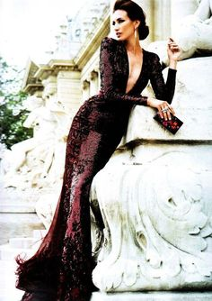Zuhair Murad... I'm in love with the silhouette of this gown!