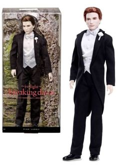 Barbie Twilight Edward: Breaking Dawn Part I  T7652