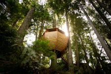 The HemLoft | A Secret Treehouse, Hiding in the Woods
