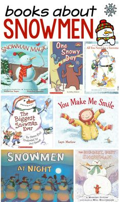 Our favorite snowman books - The Measured Mom These books about snowmen are perfect for preschool and kindergarten.<br> These are our favorite snowman books for preschool and kindergarten. We hope you find some new favorites! Kindergarten Books, Preschool Books, Preschool Themes, Preschool Winter, Preschool Alphabet, Alphabet Book, Preschool Printables, Art Therapy Activities, Book Activities