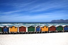 Beach, Cottage, Cottages, Beach Huts