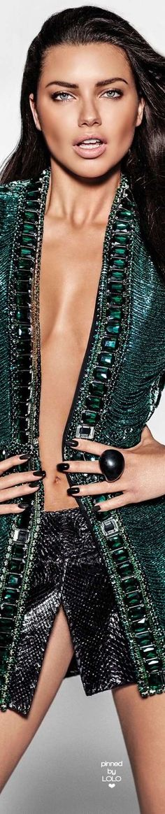 Adriana Lima – Vogue Mexico Magazine July 2015 by Russell James | LOLO❤︎