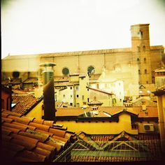 "Bologna's rooftop - ""Blogville Bologna - Part 1"" by @katieantoniou"